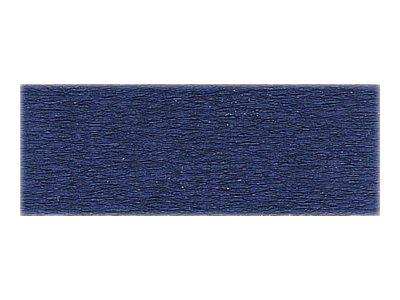 Clairefontaine Premium - Papier crépon - Rouleau 50 cm x 2,5 m - 40 g/m² - bleu foncé