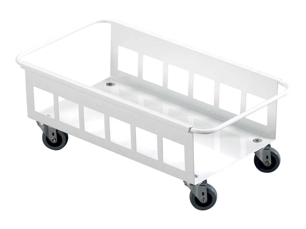 Durable - Chariot 4 roulettes pour conteneur à déchets 60L