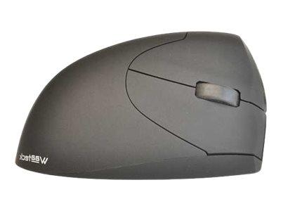 Waateck Ergo - souris sans fil ergonomique spécial gaucher - noire