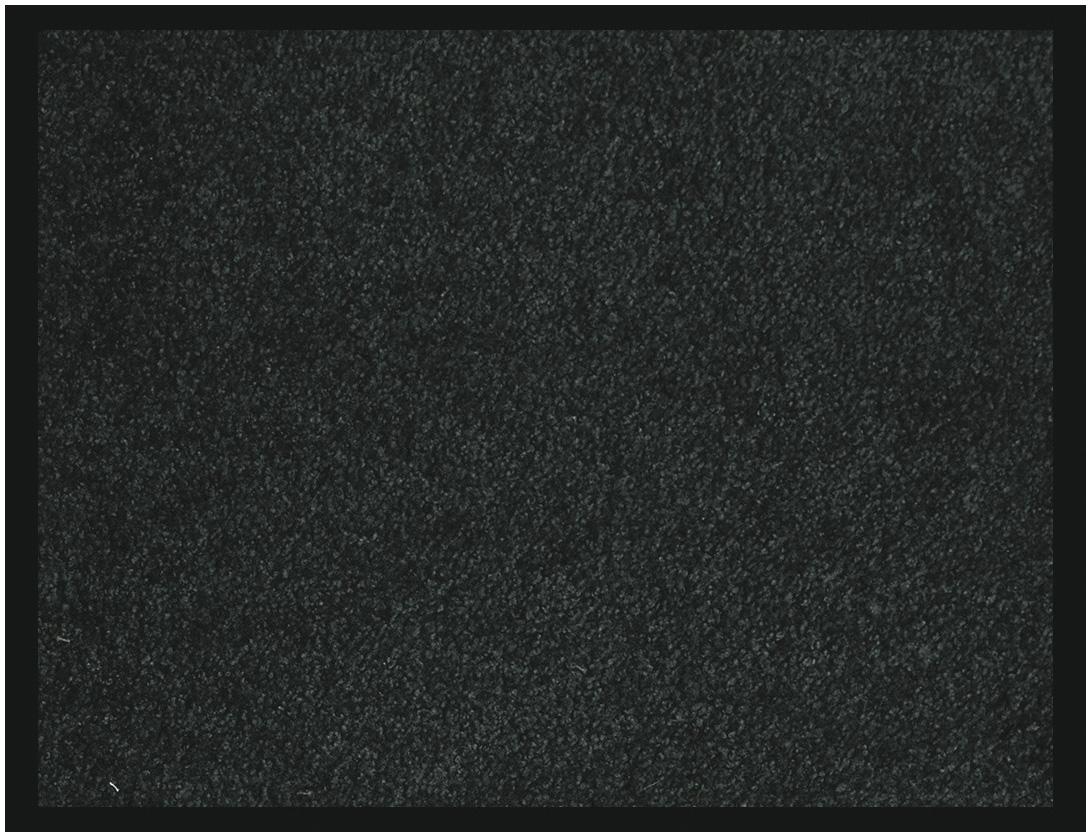 Tapis de sol absorbant RAINBOW - 40 x 60 cm - en polyamide - noir