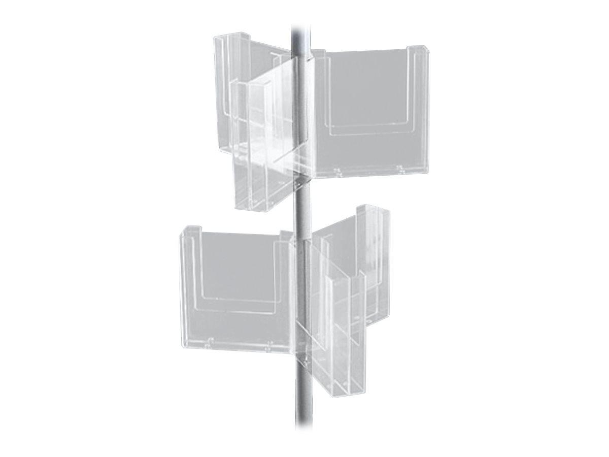Promocome - Plateau pour carroussel Etoiles : 6 compartiments A4