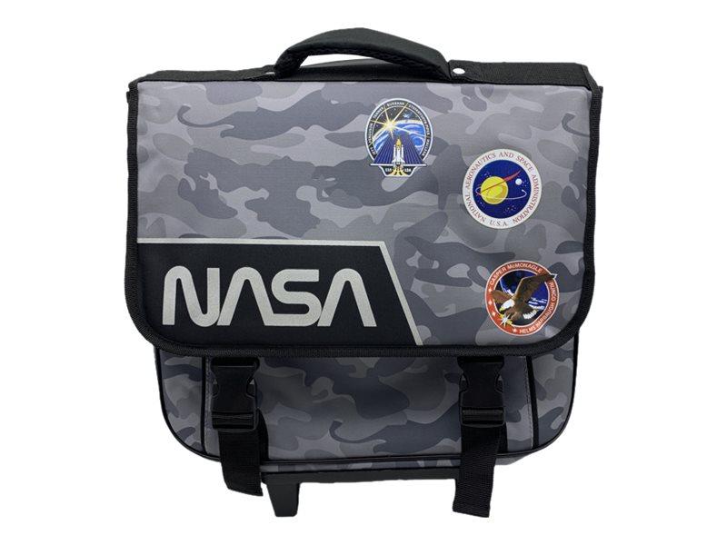 NASA Cartable 38 cm 2 compartiments Bagtrotter