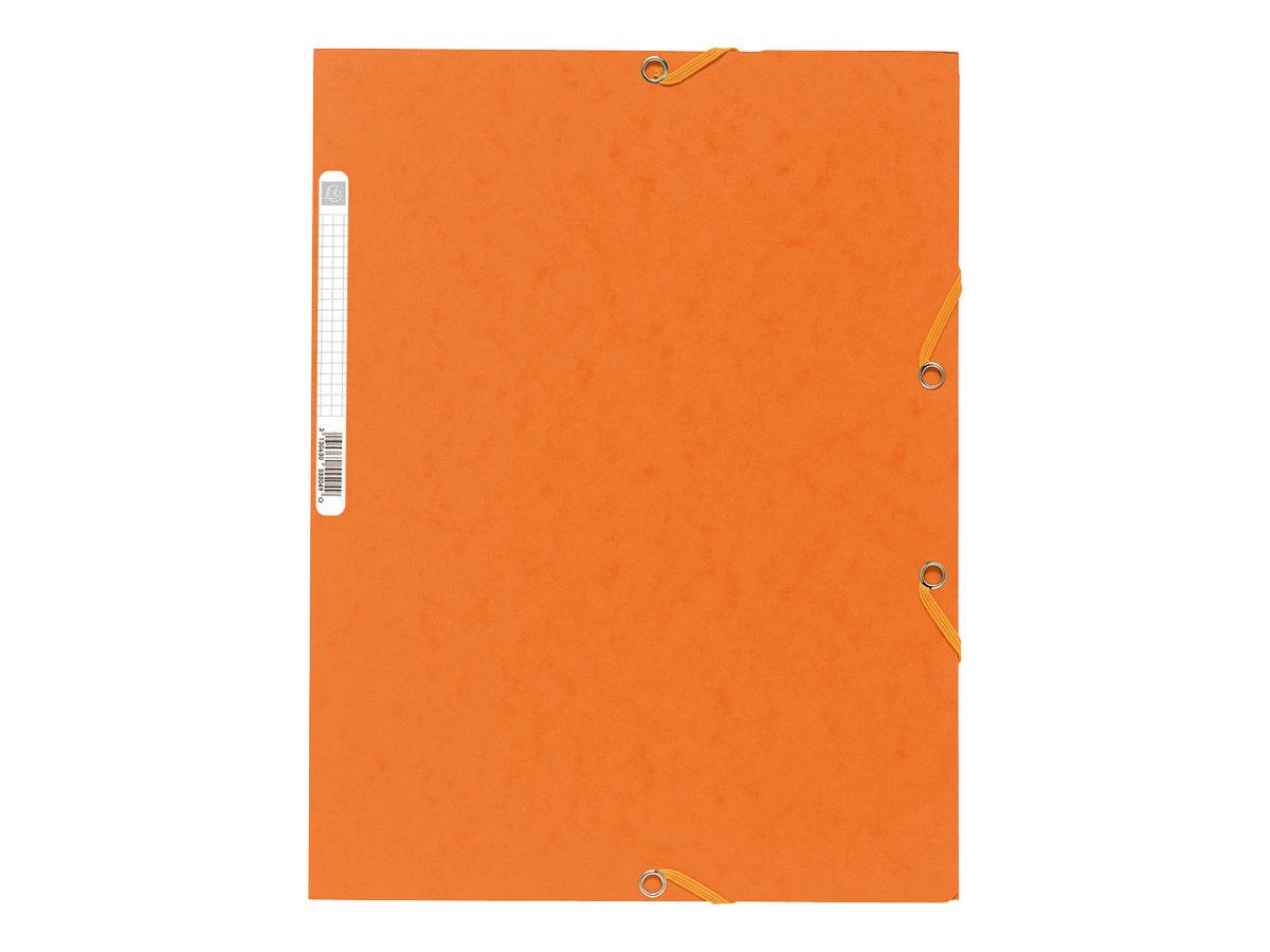 Exacompta Nature Future - Chemise à 3 rabats - A4 - pour 250 feuilles - orange