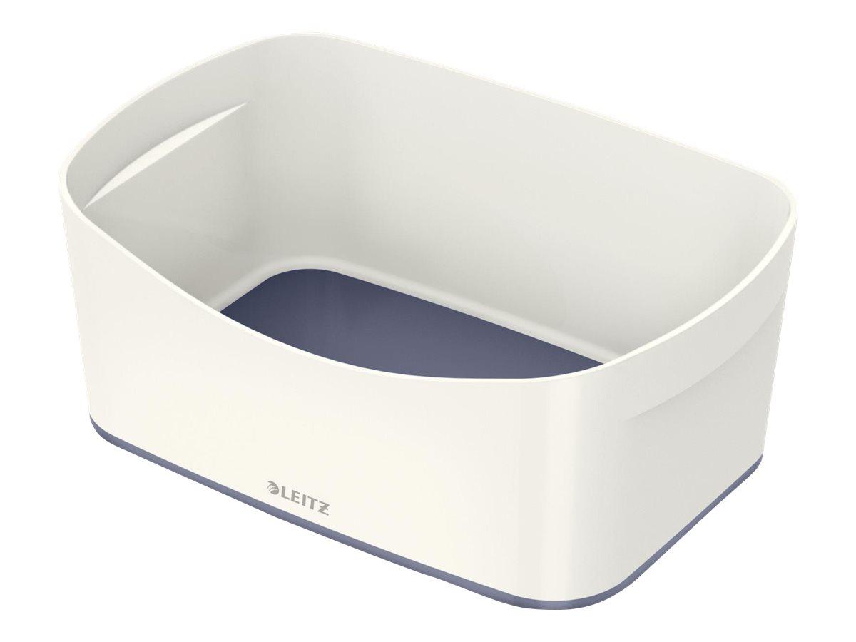 LeitzMyBox - Bac de rangement - blanc/gris