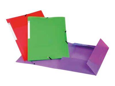 Viquel Propyglass - Chemise à 3 rabats - A4 - vert