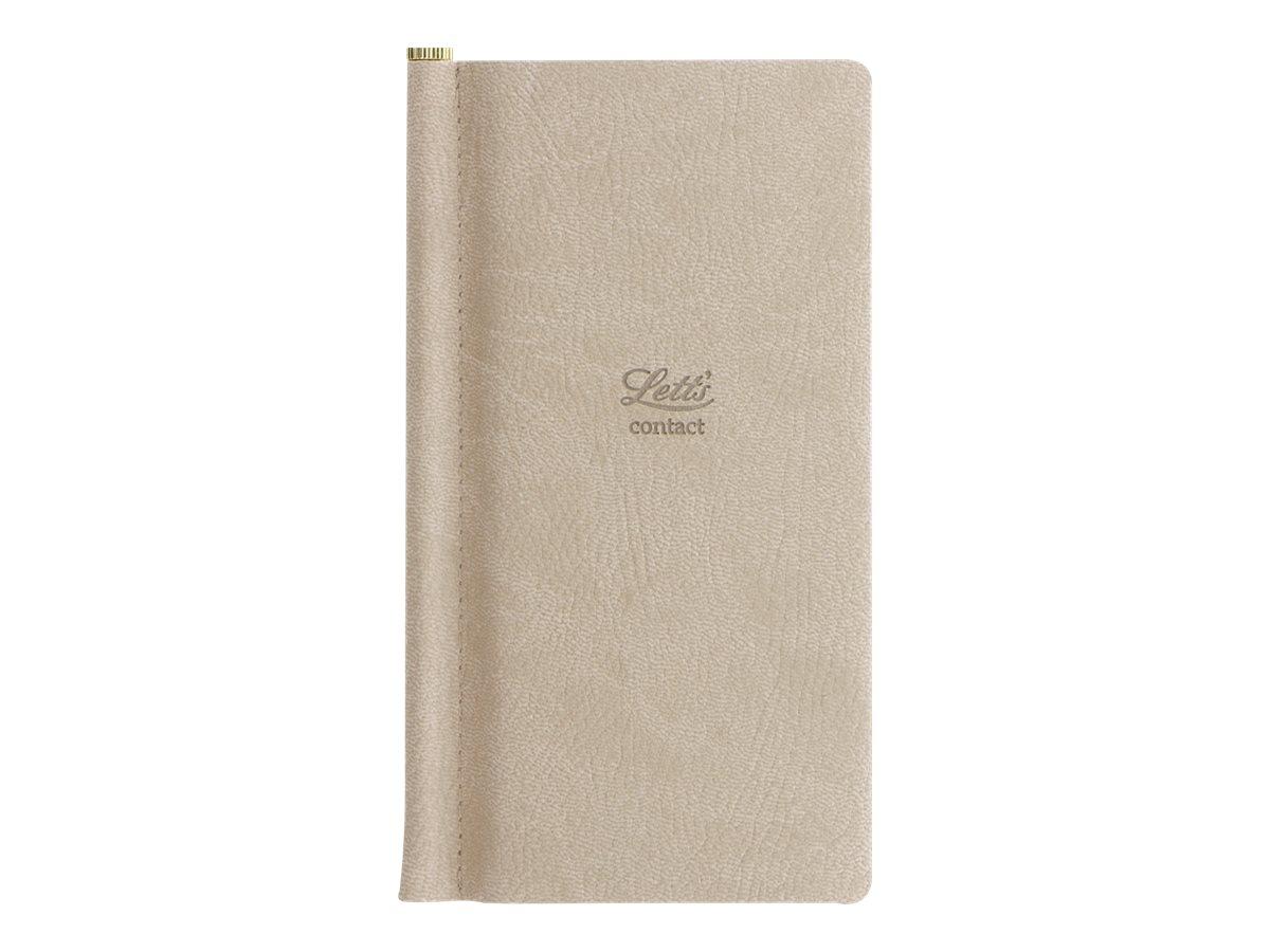 Letts Origins - Répertoire Carnet d'adresses de poche - gris - 6,9 x 14,7 cm