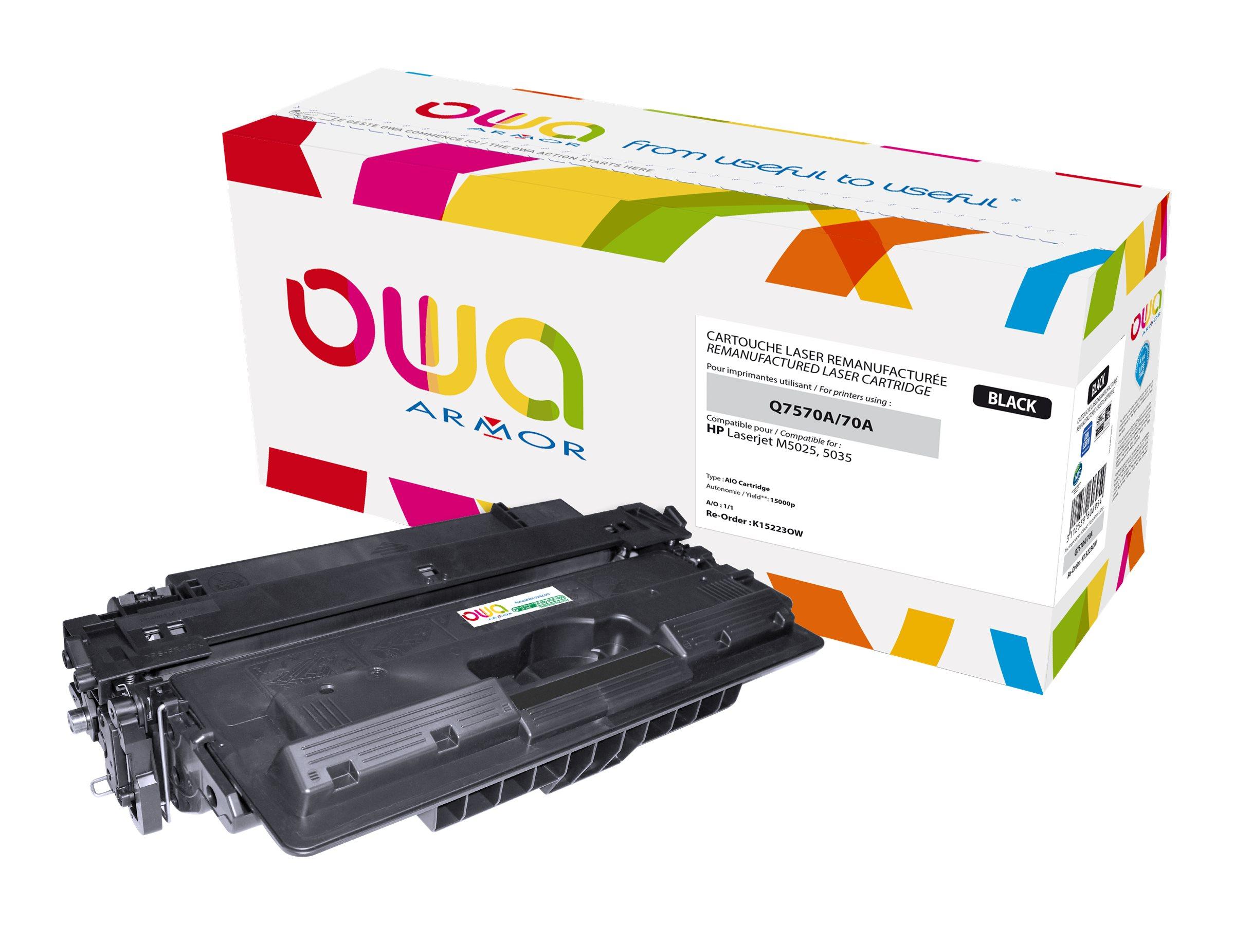 HP 70A - remanufacturé Owa K15223OW - noir - cartouche laser