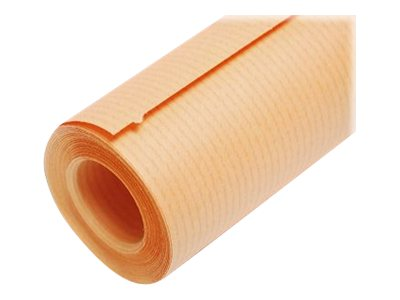 Clairefontaine - Papier cadeau kraft - 70 cm x 10 m - 65 g/m² - orange