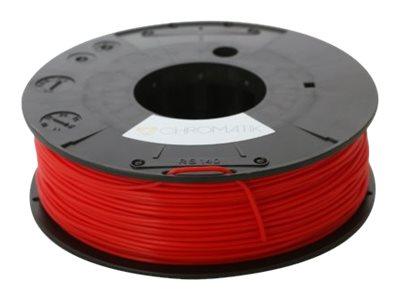 Dagoma Chromatik - filament 3D PLA - rouge pompier - Ø 1,75 mm - 250g