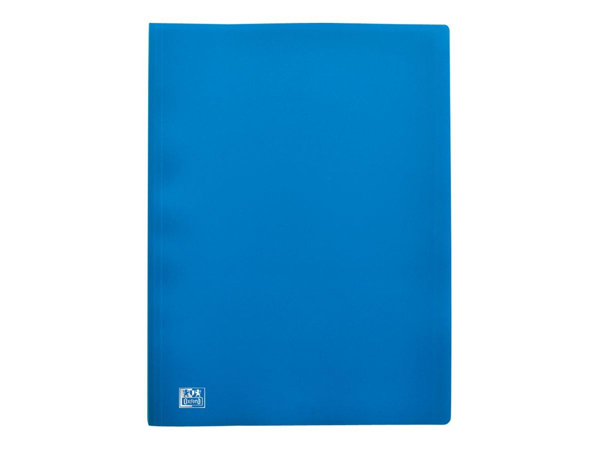 Initial - Porte vues - 80 vues - A4 - bleu