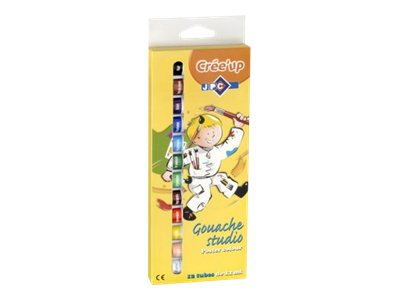 Wonday - étui de 12 tubes de gouache - 12 ml