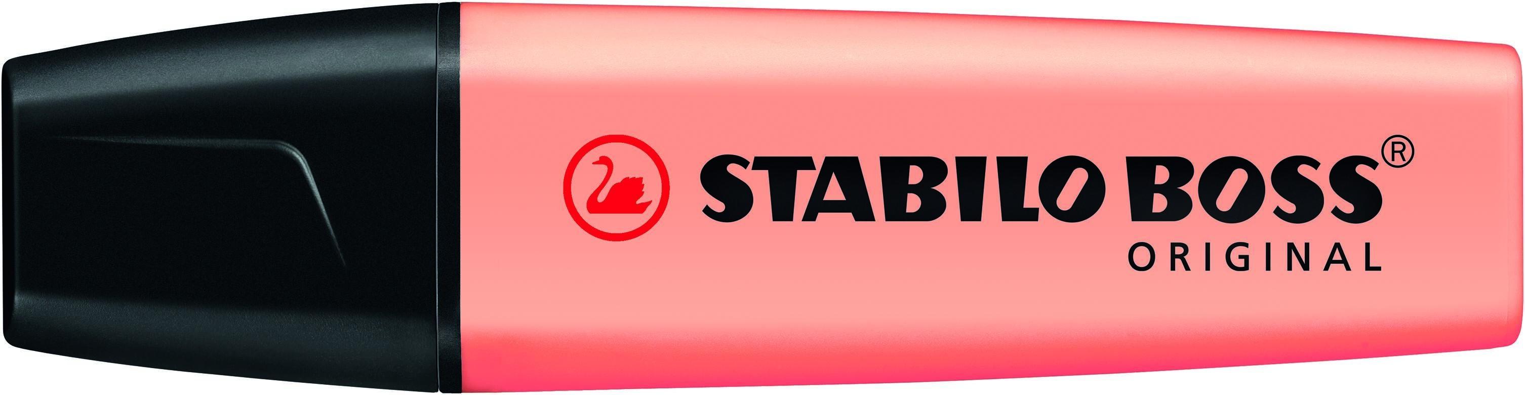 STABILO BOSS ORIGINAL Pastel - Surligneur - pêche
