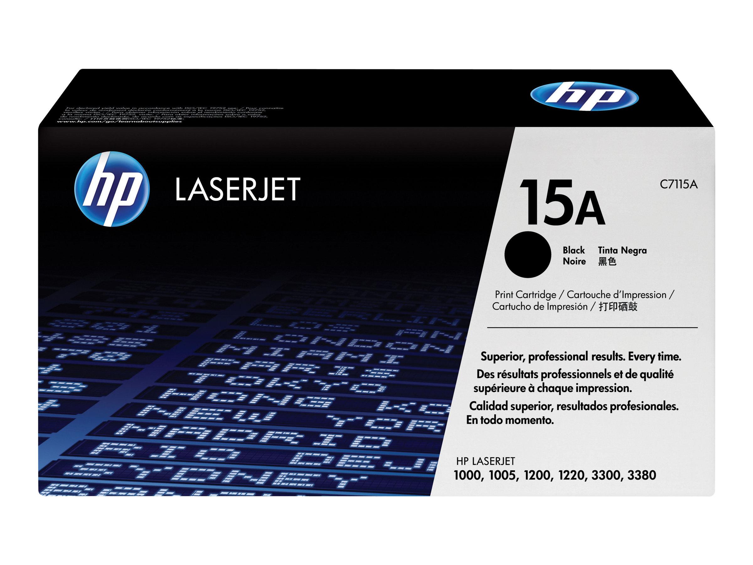 HP 15A - noir - cartouche laser d'origine