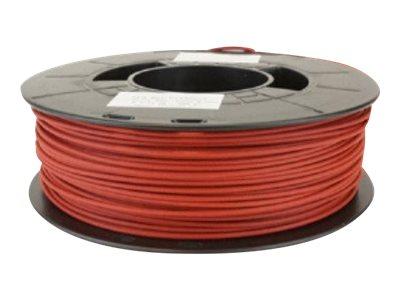 Dagoma Chromatik - filament 3D PLA - rouge brique - Ø 1,75 mm - 750g