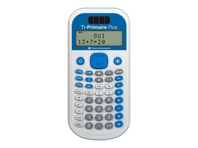 Calculatrice scolaire TI-Primaire Plus - calculatrice spéciale primaire