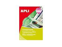 Apli Paper - Films transparents pour écriture manuelle - A4 - 100 feuilles