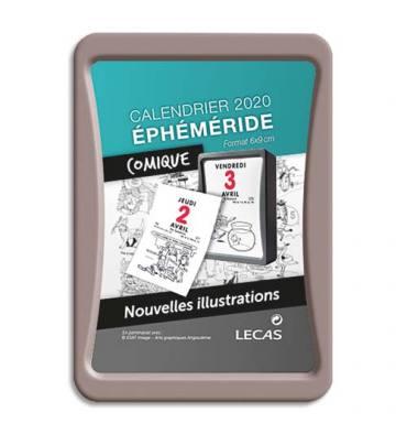 Lecas Comique - Bloc éphéméride - 6 x 9 cm