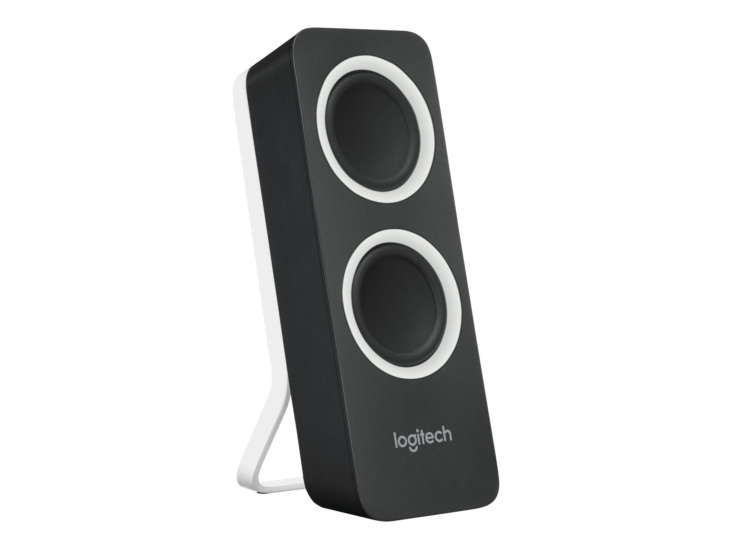 LOGITECH Z200 - Mini enceinte multmédia - 5W - noir