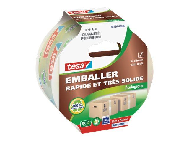Tesa ecoLogo - Ruban adhésif d'emballage -  40 m
