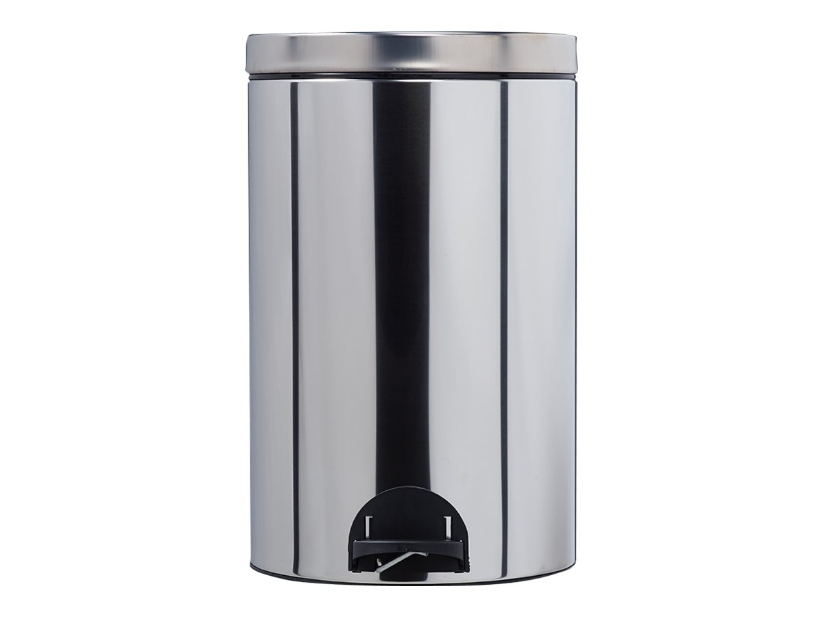 Rossignol SANELIA - Poubelle à pédale - 20 L - acier inoxydable