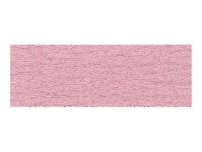 Clairefontaine Premium - Papier crépon - Rouleau 50 cm x 2,5 m - 40 g/m² - rose