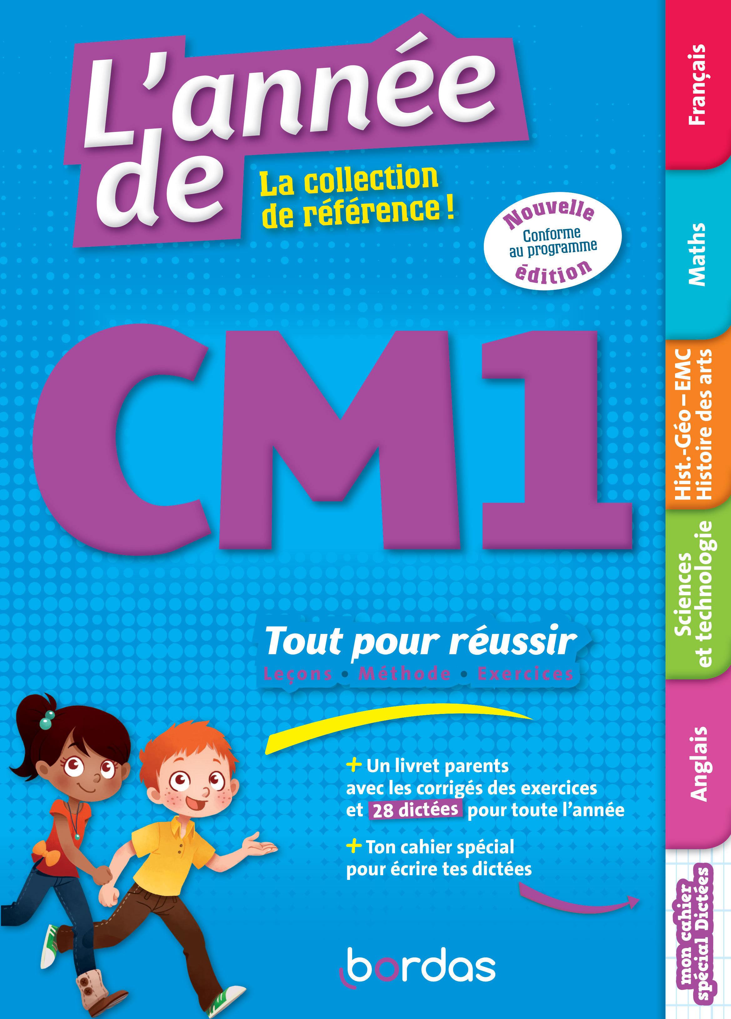 L'année de CM1 - Toutes les matières - edition 2020