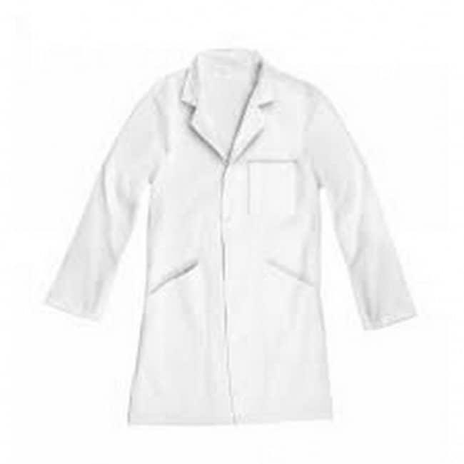 JPC - Blouse blanche mixte - 100% coton - taille M