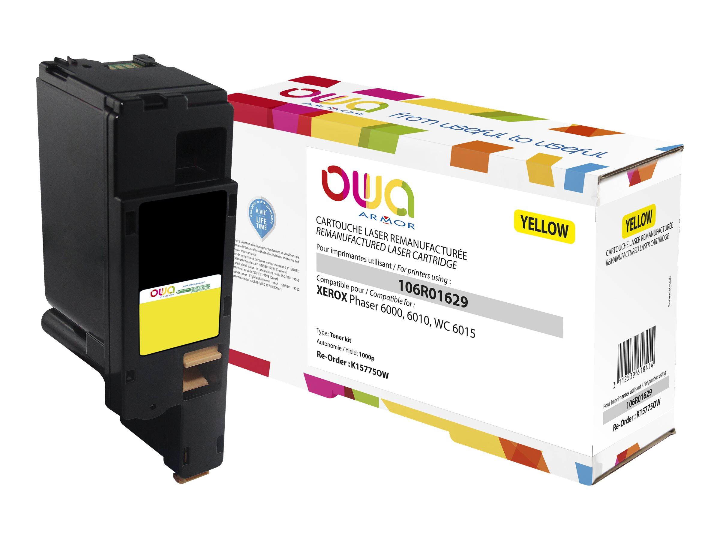Xerox 106R01629 - remanufacturé OWA K15775OW - jaune - cartouche laser