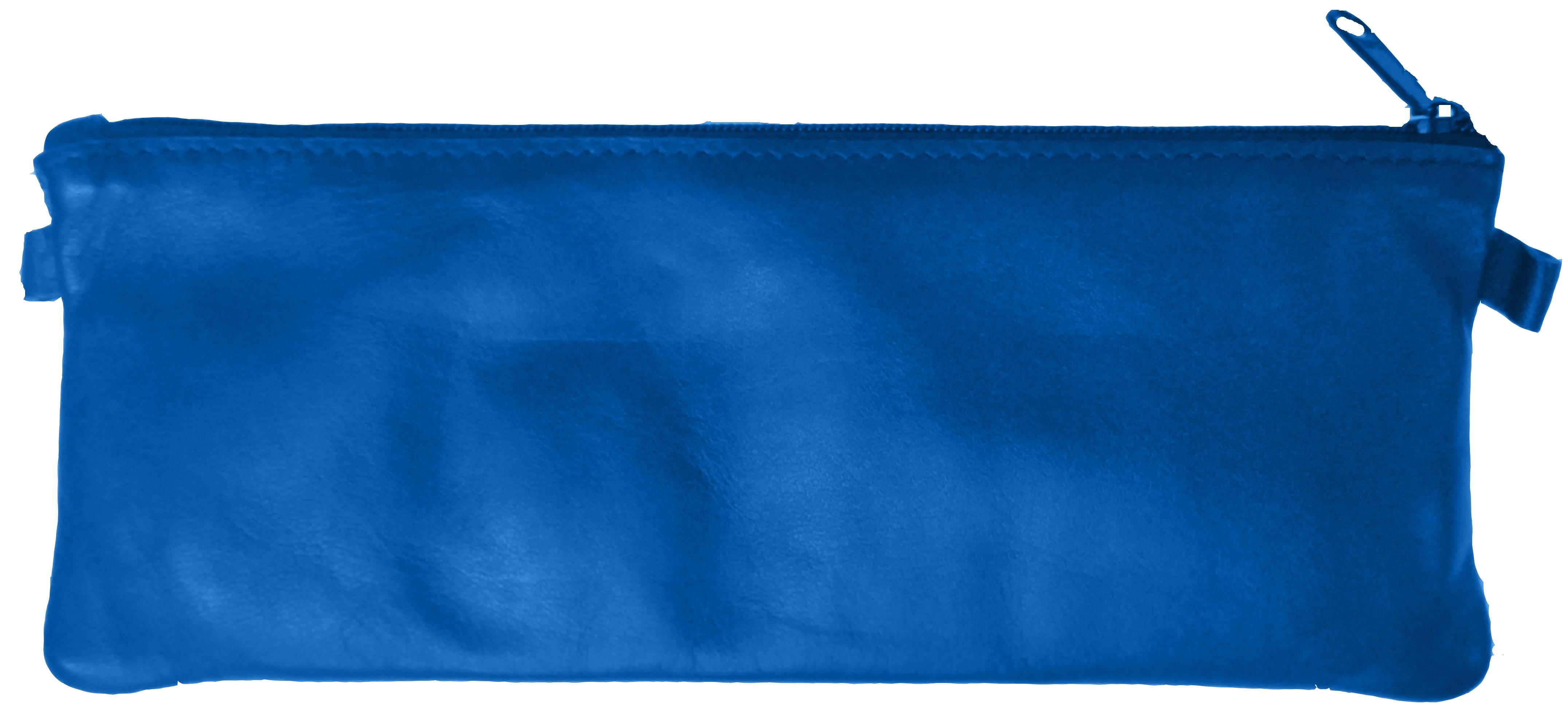 Trousse Merinos GM plate - 1 compartiment - cuir de mouton - disponible dans différentes couleurs - Quo Vadis