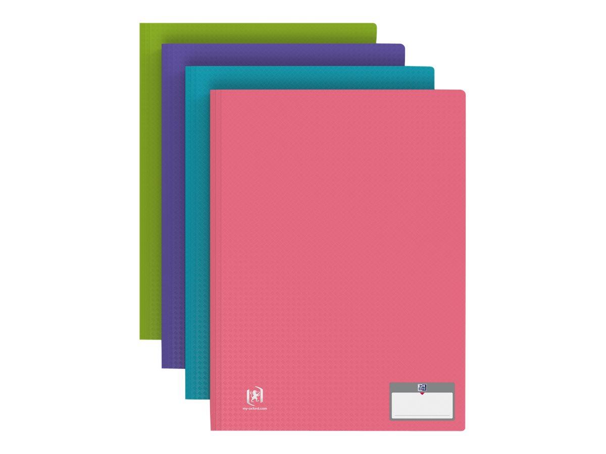 Memphis Style - Porte vues - 80 vues - A4 - disponible dans différentes couleurs