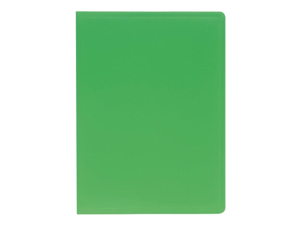 Exacompta - Porte vues - 160 vues - A4 - vert foncé