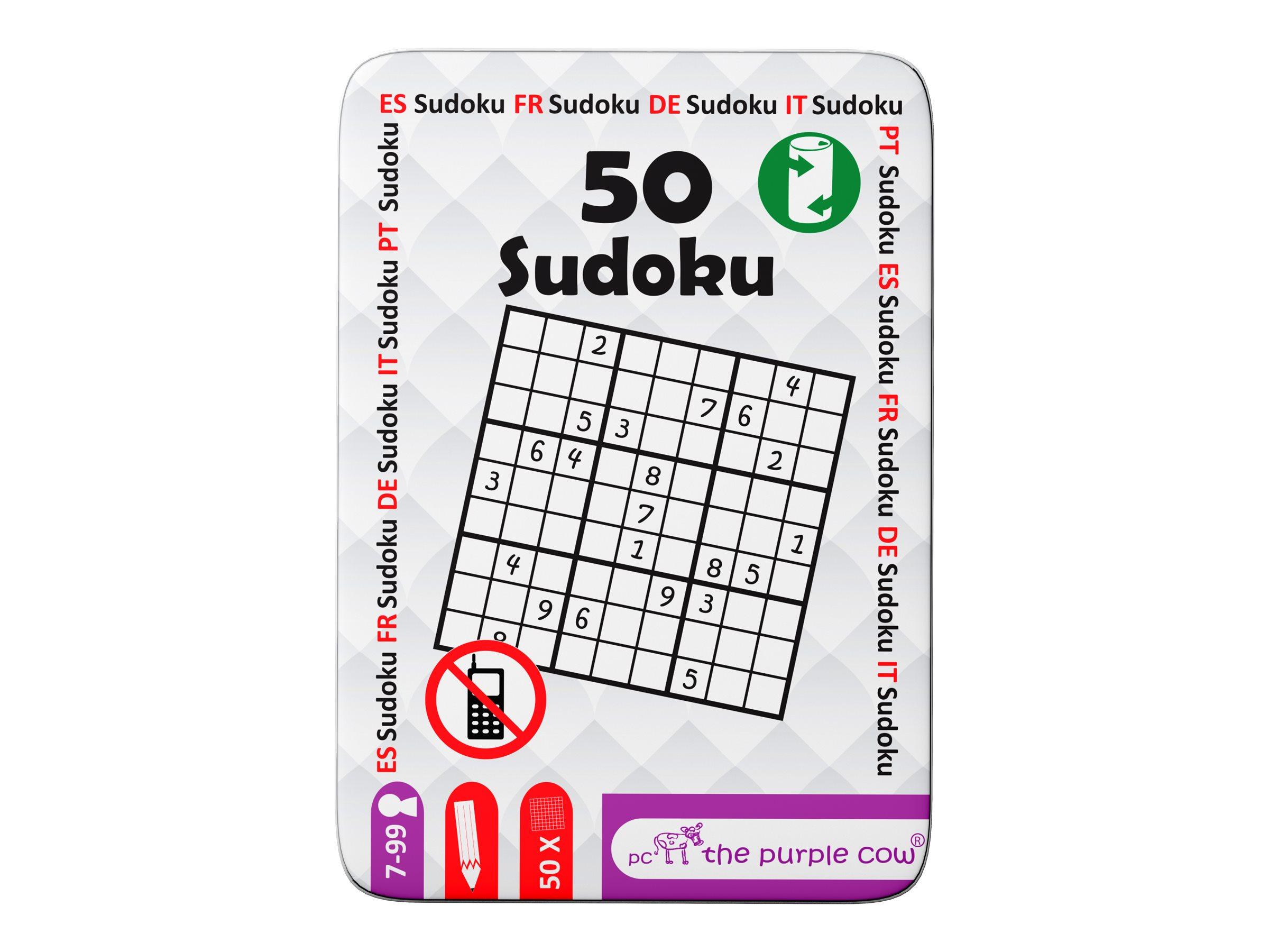 Oberthur - Jeu de voyage : 50 cartes sudoku