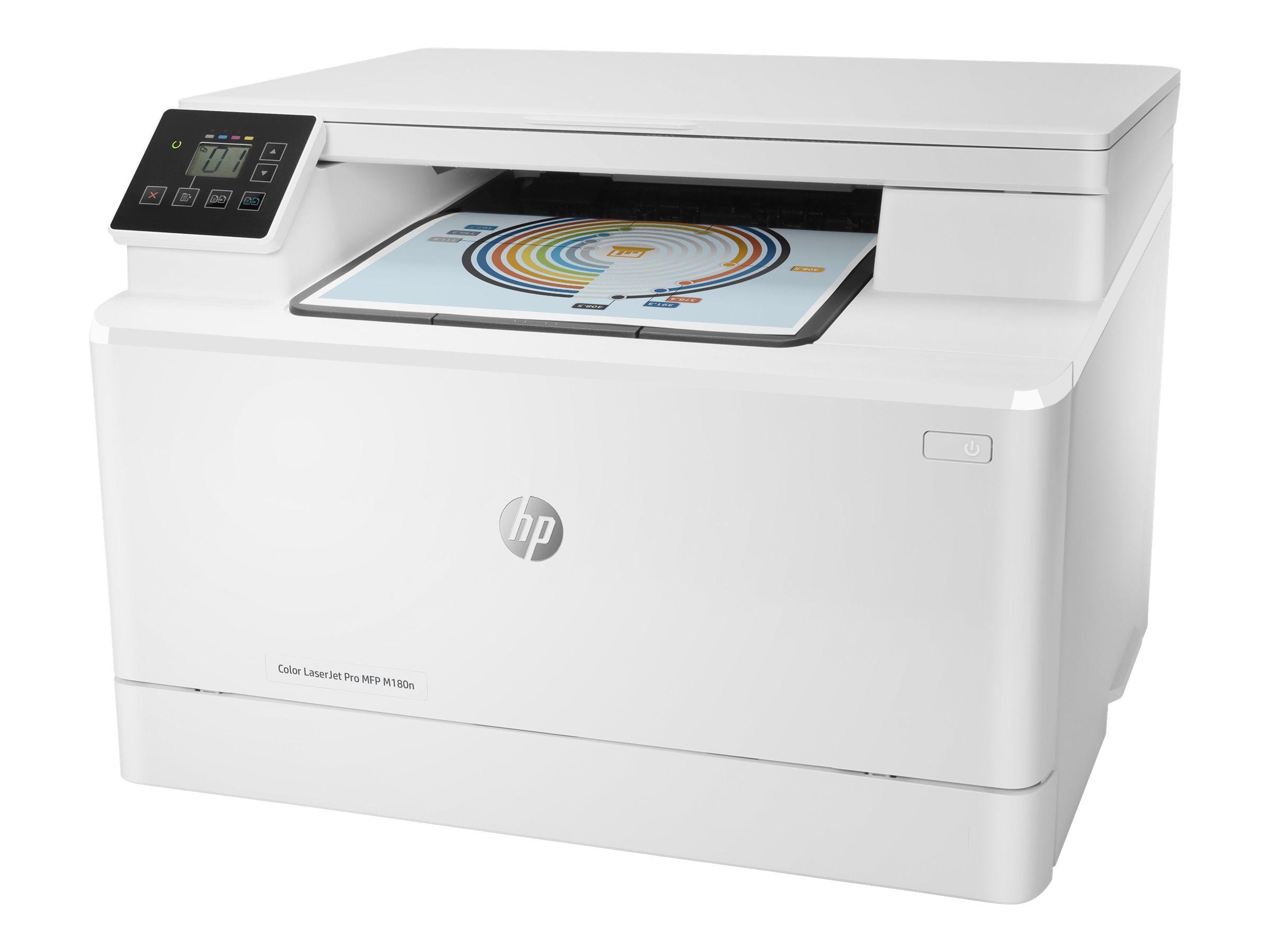 HP Color LaserJet Pro MFP M180n - imprimante multifonctions - couleur - laser