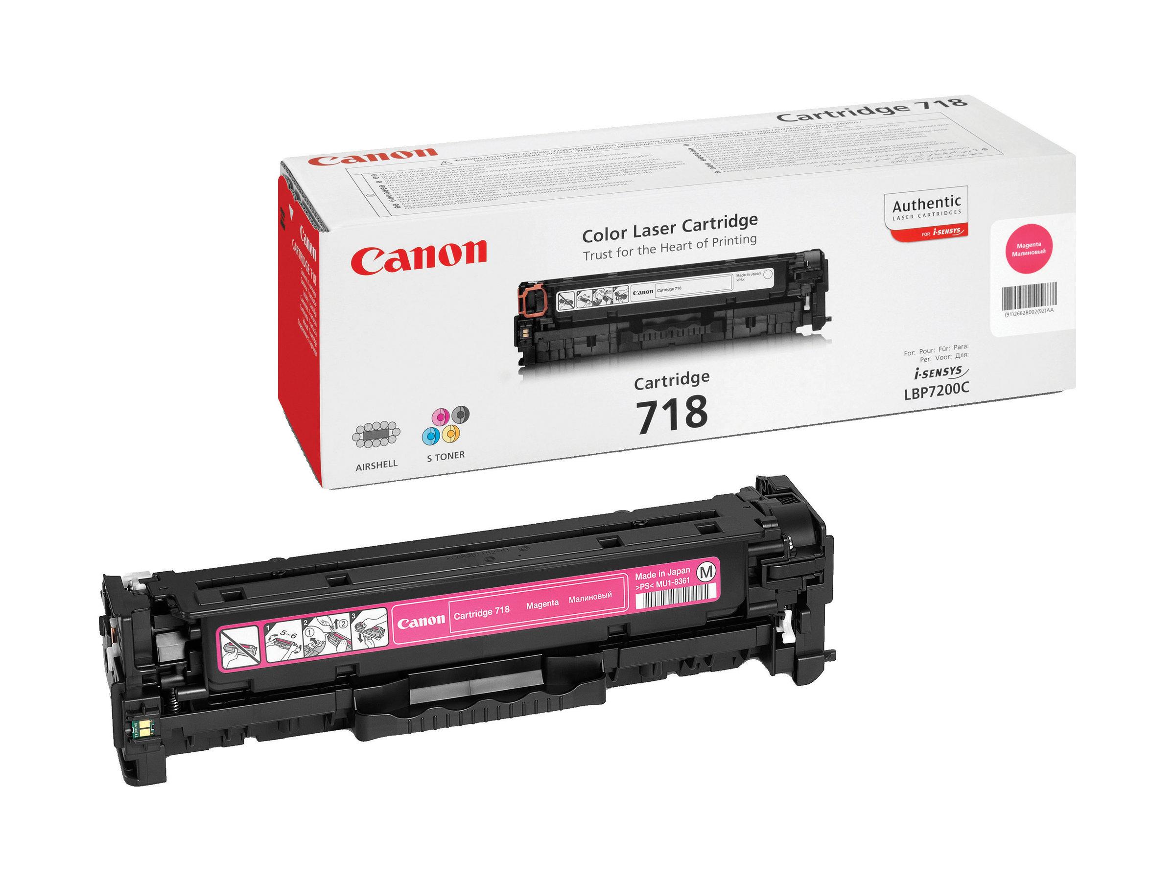 Canon 718 - magenta - cartouche laser d'origine