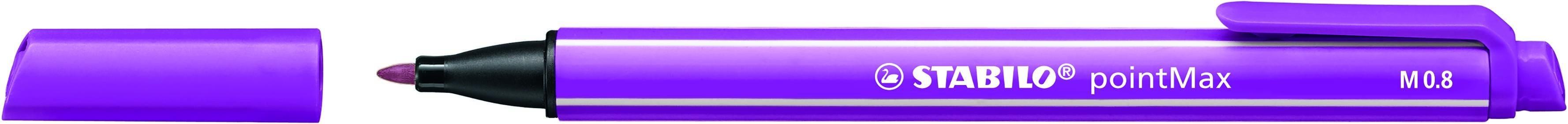 STABILO pointMax - Feutre d'écriture - pointe moyenne - lilas