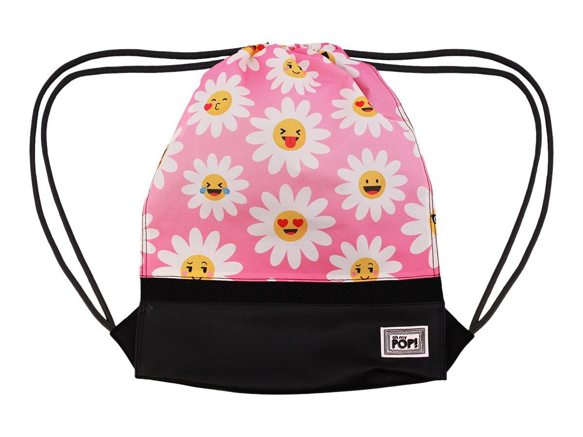 Oh My Pop! Happy Flower Storm - Sac à dos piscine cordon - 1 compartiment - Karactermania