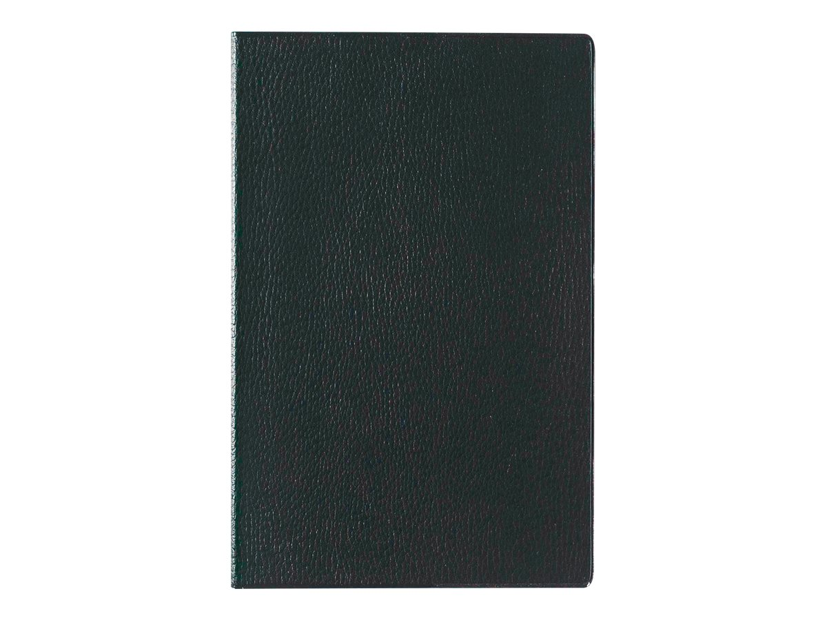 Lecas Economique - Agenda 1 semaine sur 2 pages - 16 x 24 cm - noir