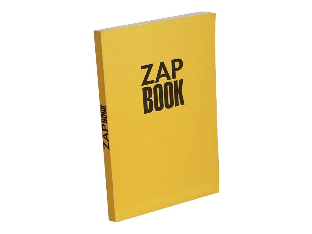 Clairefontaine Zap Book - Bloc dessin - 160 feuilles - A4 - 80 gr - blanc