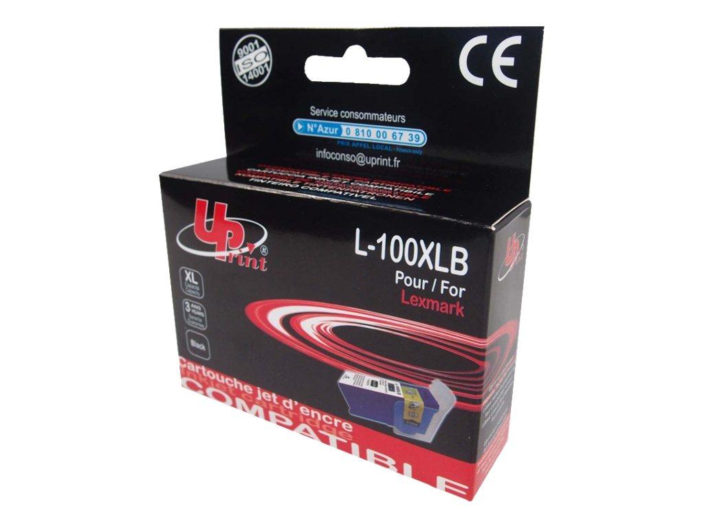 Lexmark 100XL - compatible UPrint L.100XLB - noir - cartouche d'encre