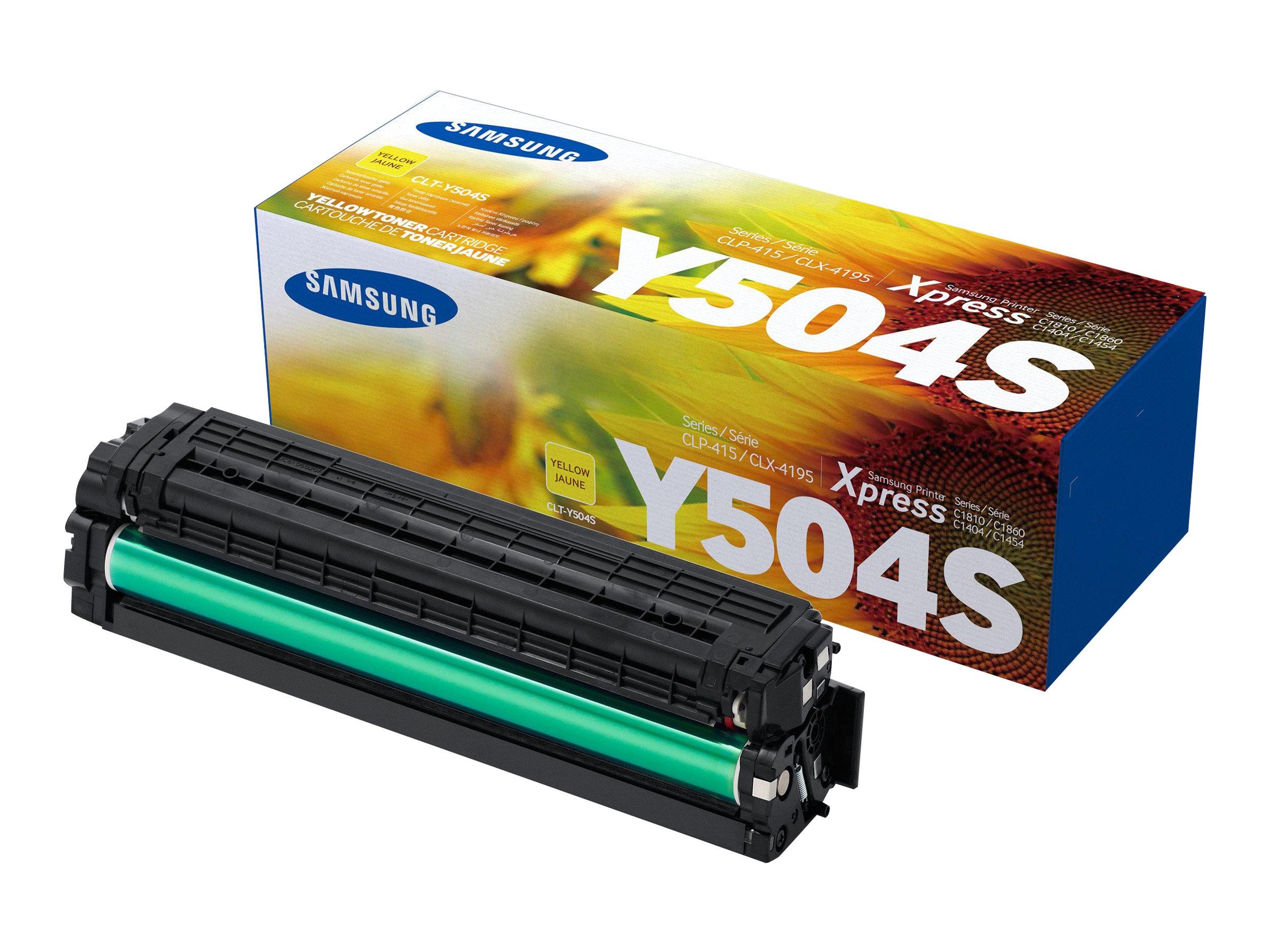 Samsung CLT-Y504S - jaune - cartouche laser d'origine