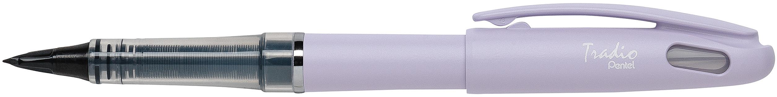 Pentel Tradio Pastel - Feutre plume - corps violet