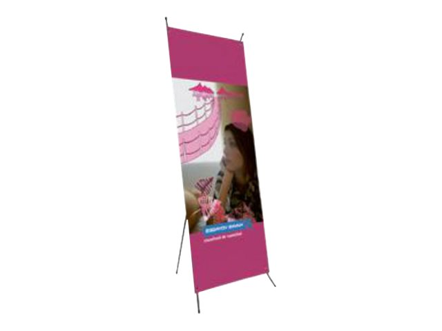 Promocome - Tendeur d'affiche X Banner 80 x 200 cm