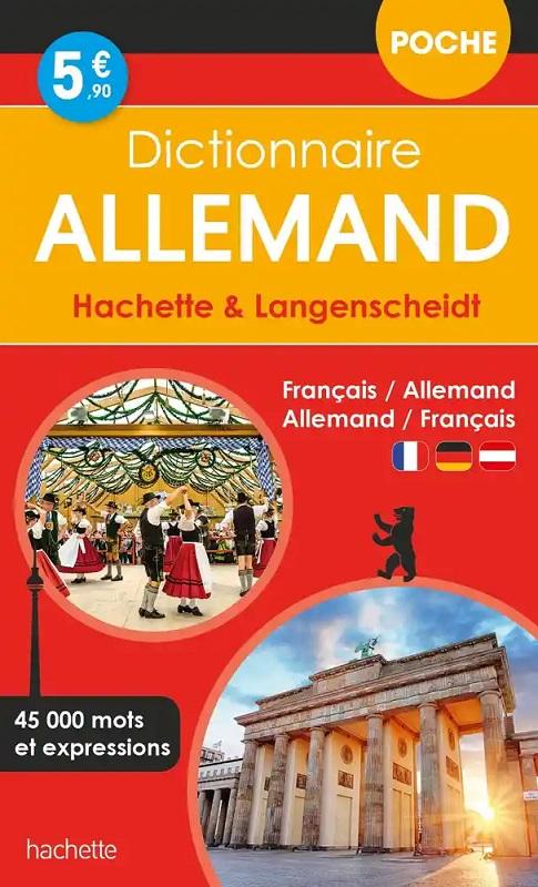 Hachette Langenscheidt Dictionnaire de poche bilingue Allemand/Français