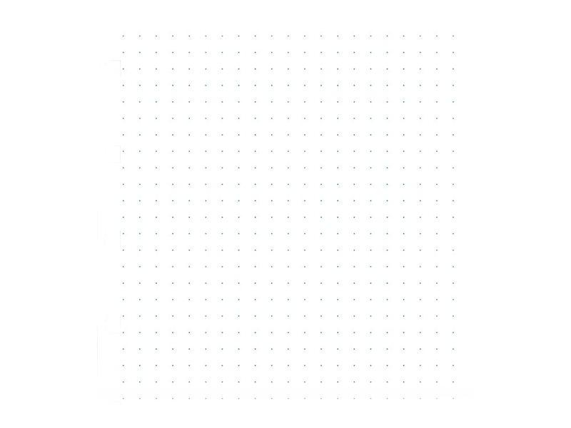 Filofax - Recharge pour carnet A5 - pointillés