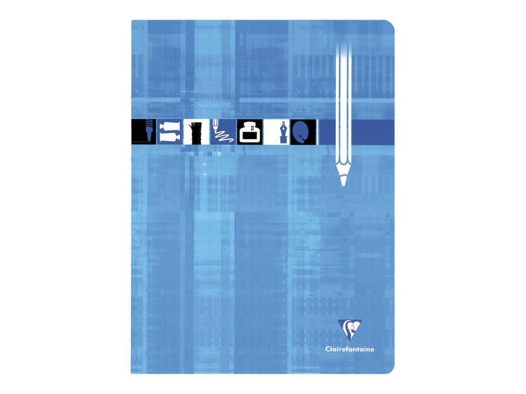 Clairefontaine - Cahier de dessin 24 x 32 cm - 24 pages blanches