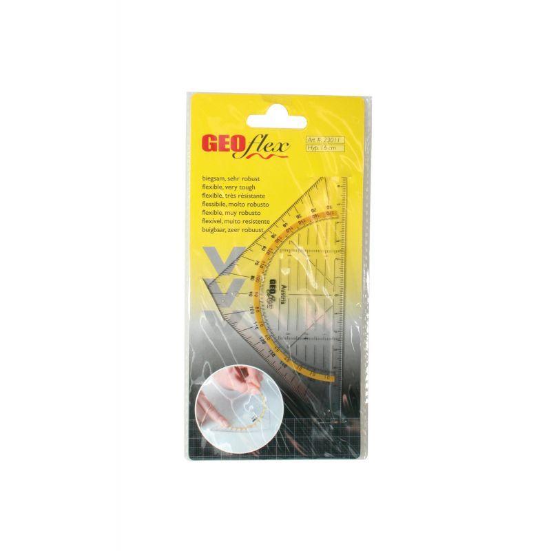 Aristo GEOFLEX 23011 - Équerre transparente - 16 cm