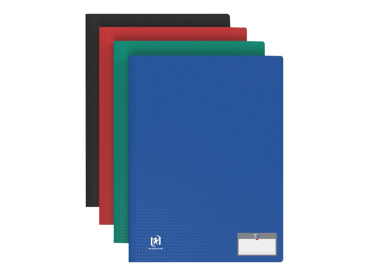 Memphis Tradition - Porte vues - 80 vues - A4 - disponible dans différentes couleurs