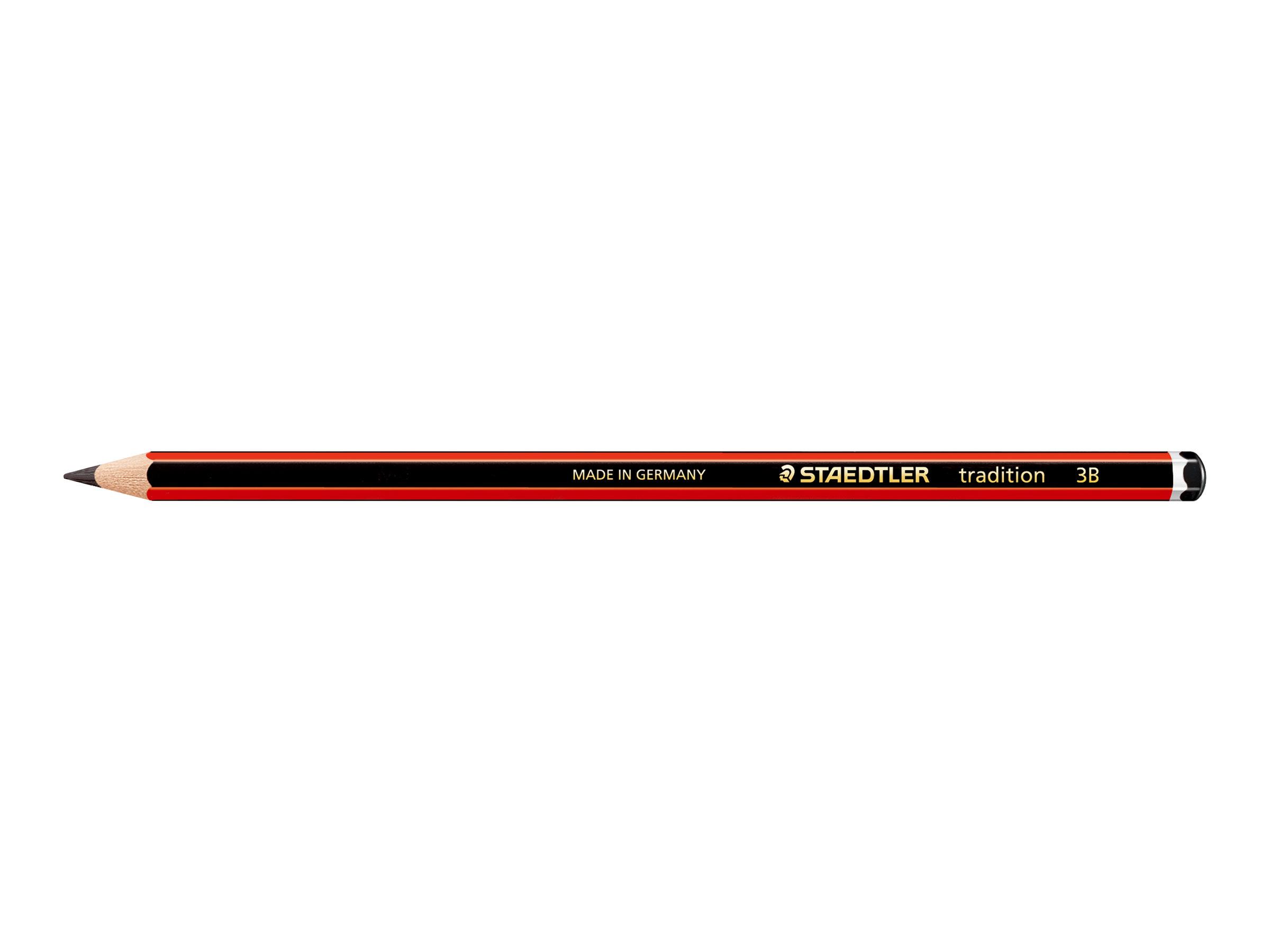 STAEDTLER Tradition - Crayon à papier - 3B - 2 mm