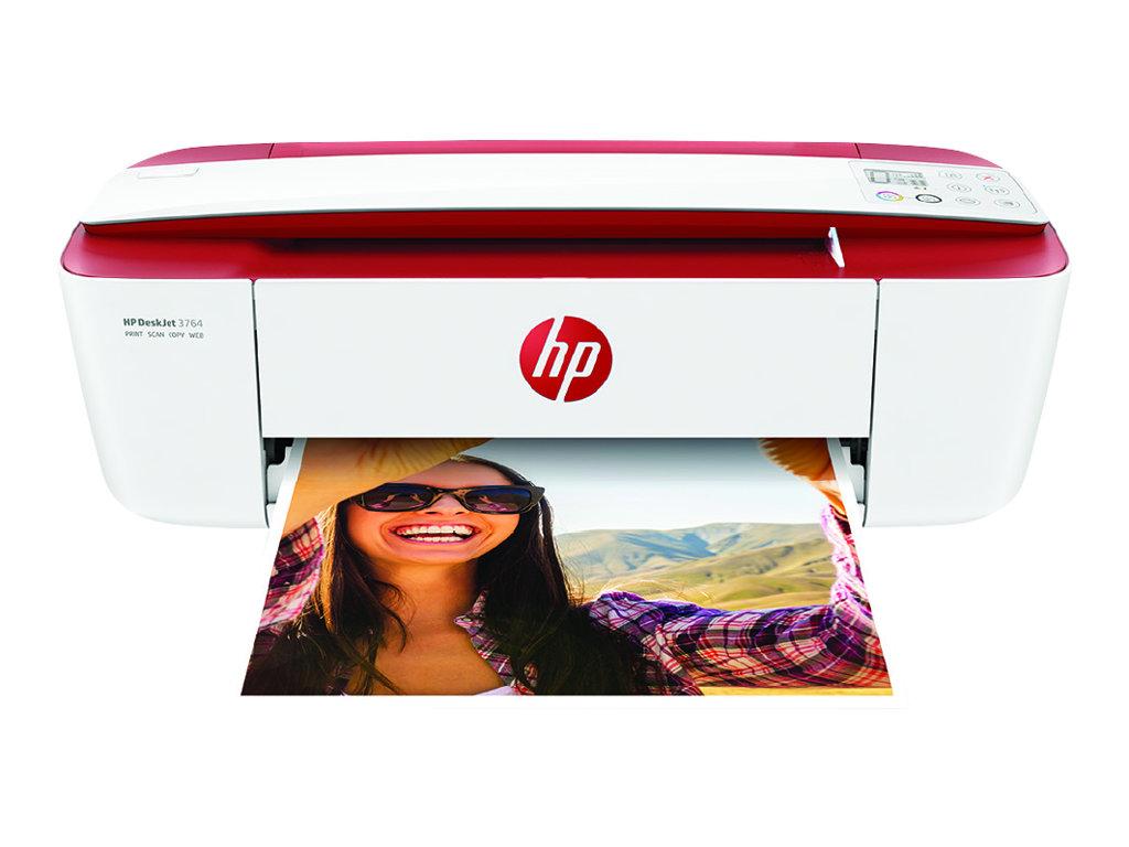 HP Deskjet 3764 All-in-One - imprimante multifonctions jet d'encre couleur A4 - Wifi, USB