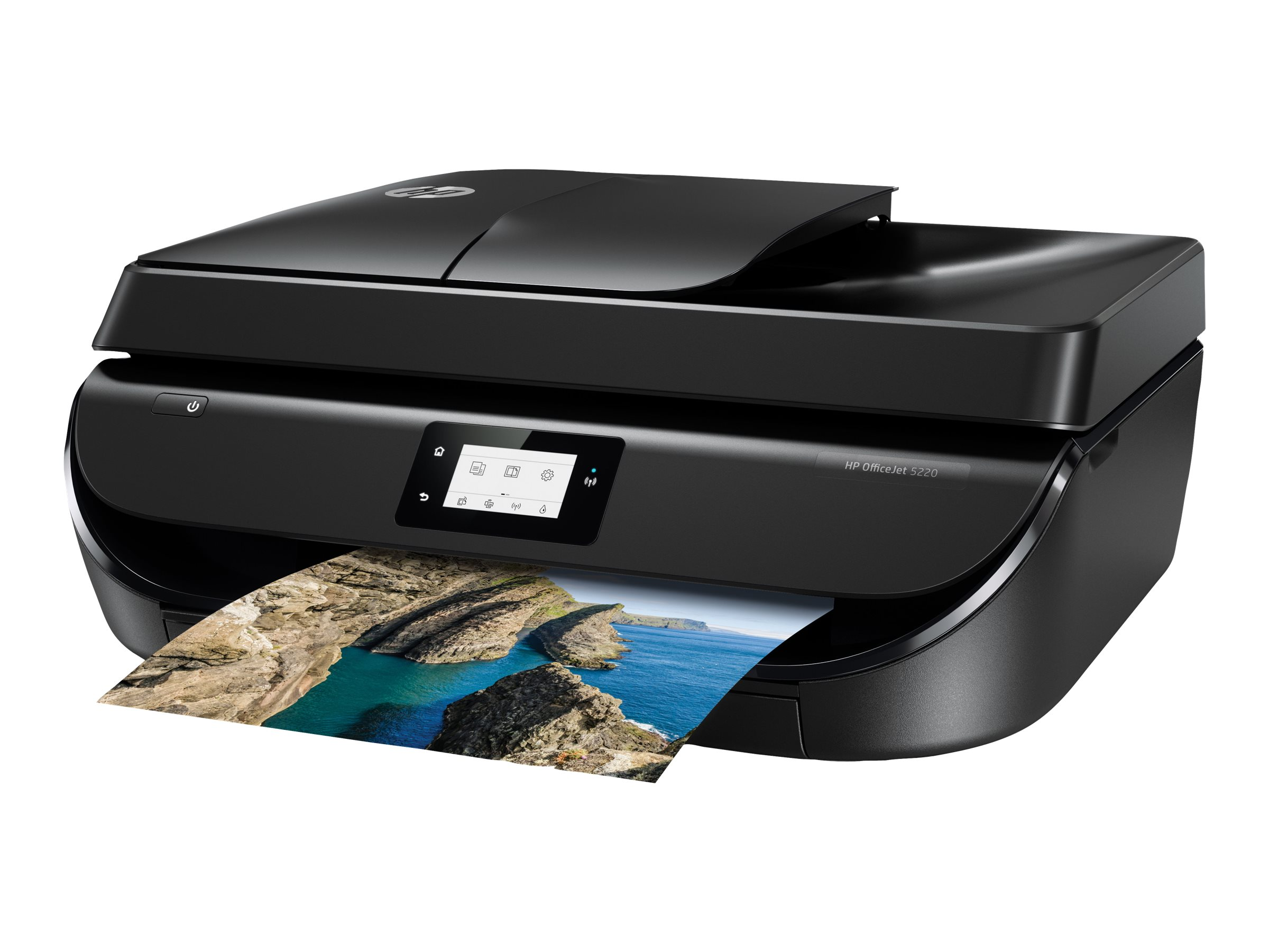 HP Officejet 5220 All-in-One - imprimante multifonctions jet d'encre couleur A4 - Wifi, USB - recto-verso
